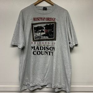 Vintage shirt madison county xxl